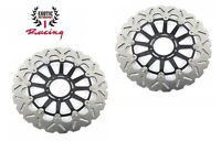 Front Brake Disc Rotors Set For Ducati  1098 1098S 1198 1198s Wave Rotors
