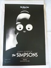 Olly Moss THE SIMPSONS with QUOTE - Limited Edition Signed and Numbered Print
