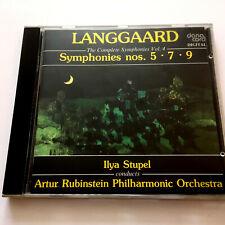 Rued Langgaard – Symphonies Volume 4 : Nos. 5, 7 and 9 (CD 1992) Ilya Stupel