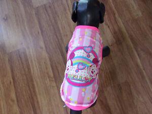 dog shirt, tanktop,Hello Mickey&Minnie! pink, XS (**read details of size)