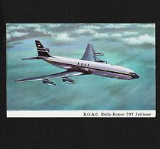 1960's BOAC Rolls Royce 707 Jetliner Unused