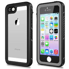For iPhone 5/ 5S/ SE Waterproof Case Dustproof Snowproof Screen Protector