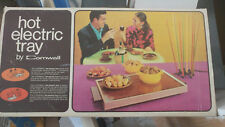 Vintage Hot Electric Tray by Cornwall Warming Tray model K403 Avocado