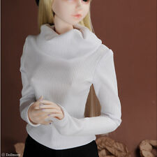 Dollmore BJD 26inch outfits clothes Model F Size - Basic High-Neck T (White)