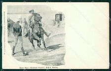 Anglo Boer War South Africa Colonel Plumer Woodville postcard cartolina QT5259
