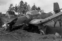 "War Photo U-87 dive bomber Luftwaffe Germany WW2 Glossy Size ""4 x 6"" inch O"