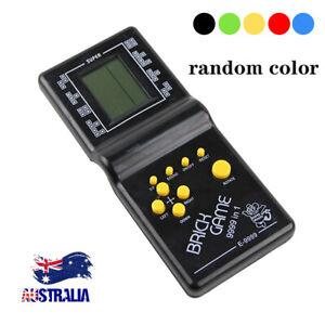 Classic Nostalgic Tetris Brick Handheld LCD Video Games Toy Machine Arcade