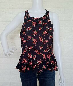 Abercrombie & Fitch Women's Floral Sleeveless Blouse Tops size Small