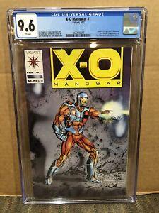 X-O Manowar 1 CGC 9.6 1992 - 1st Appearance & Origin Of X-O Manowar Valiant