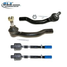Front Left & Right Inner Outer Tie Rod Ends Links for 2005-2016 Nissan Frontier