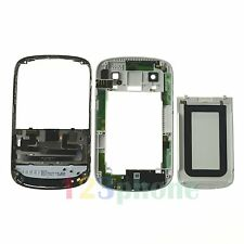 KEYPAD + BACK COVER + CHASSIS FULL HOUSING FOR BLACKBERRY 9900 BOLD WHITE
