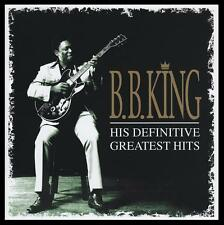 BB KING (2 CD) DEFINITIVE GREATEST HITS ~ R&B / BLUES / B.B. ~ 60's / 70's *NEW*