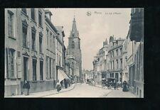 Belgium Hainaut MONS Rue d'Havre c1900s PPC pub by Ern Thill