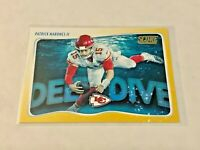 2020 Score Football Gold Deep Dive - Patrick Mahomes II - Kansas City Chiefs