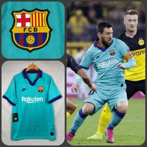 Nike FC Barcelona 3rd Football Soccer Shirt, AT0029-310, Sz XL, 100% Genuine