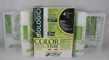 Naturerbe COLOR ERBE bio Tinta TINTURA capelli 60ml biologica 4 CASTANO brown