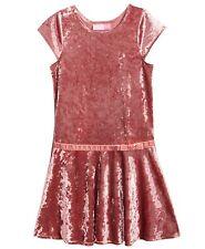 Good Lad Pink  Velvet Dress Girls' Size 5