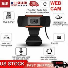 Webcam Auto Focusing Web Camera TRUE HD Cam Microphone For PC Laptop Desktop