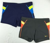 "Nike Mens Swimwear, Metro Splice 3"" Swim Trunks sizes Medium, Large"