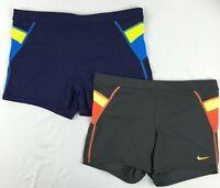 "Nike Mens Swimwear, Metro Splice 3"" Swim Trunks sizes Medium, Large"