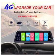 "wifi Car DVR Dash camera 4G ADAS 10""Center console Android mirror for truck DVR"