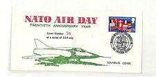 DD81 1969 GB Nato Air Day 20th Anniversary Souvenir Cover RAF Devon Cover PTS
