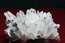 SC07-11 Bello QUARZO, Sphalerite, Chalcopyrite cristalli (Dalnegorsk, Russia)