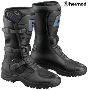 Gaerne G-Adventure Waterproof Motorcycle Motorbike Boots - Black