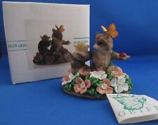 Charming Tails~Raccoon~Surrounded by Friends~Snail~Butterfly~L adybug~87/353~Mib