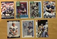 Troy Aikman Lot Of (7) Football Cards