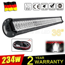 "36"" 234W barre de led light bar 10-30V Offroad Phare de travail 4x4 Quad Rampe"