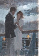 "Darrell Greene American Illustration ""Couple by the Moonlight"""