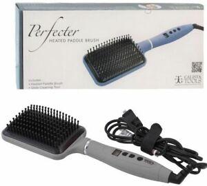 Calista Tools Pro Grip Hot Brush Heated Paddle Perfecter Straightener 410°