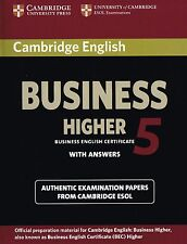 Cambridge English BUSINESS HIGHER 5 (BEC) Student's Book with Answers @NEW@
