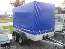 Tieflader Tandemanhänger, 2.000 kg zGG. mit Plane und Spriegelgestell