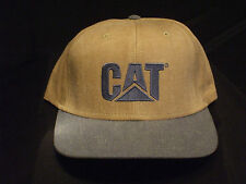 CAT Blue and Tan Ballcap