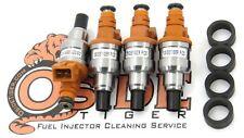 330cc Honda Civic Integra Turbo D16 B16 B18 H22 Fuel Injectors JDM D15B ZC VTEC