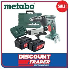 Metabo SE 18 LTX 4000 + SM 5-55 Drywall Autofeed Screwdriver Kit AU62004810A