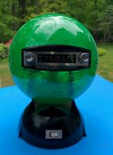 Apollo Era 1960s Moon Globe Light and AM Radio Japan Space Race Green Cheese