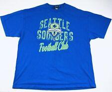 Vintage Seattle Sounders Football Club Tshirt Size 2XL Blue GIII