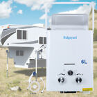 LPG Propane Gas 6L Hot Water Heater Tankless Instant Boiler Outdoor RV Portable