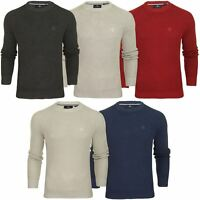 Duck and Cover Mens 'Generals' Crew Neck Jumper