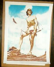 Native American Signed Print Numbered 347/425