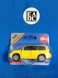 SIKU 1440 TOYOTA LANDCRUISER V8 YELLOW SUV / WAGON / 4X4