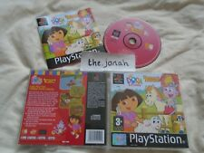 Dora the Explorer PS1 (COMPLETE) family cartoon childrens Sony Playstation
