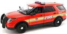 Motormax 1/24 FDNY New York City Fire Department  Ford PI Utility SUV NY71736