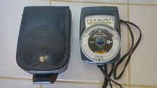 Vintage German Gossen Luna-Pro Light Exposure Meter ASA - Needs New Batteries