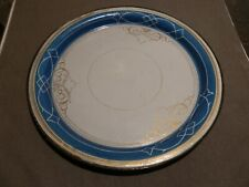 ANCIEN PLATEAU LIMONADE TOLE EMAILLEE DECOR POLYCHROME JAPY ??