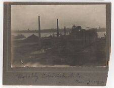 1900s CORN PRODUCTS COMPANY New Jersey CABINET PHOTOGRAPH Photo INDUSTRIAL Mills