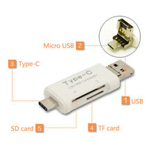 New 3 in 1 TF SD Card Reader Adapter for iPhone/ipad/ MAC/ PC/ Android Device